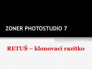 ZONER PHOTOSTUDIO 7