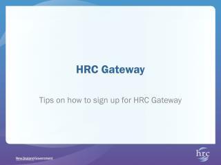 HRC Gateway
