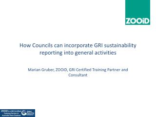 How Councils can incorporate GRI sustainability reporting into general activities
