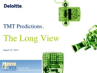 TMT Predictions . The Long View