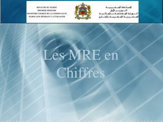 Les MRE en Chiffres