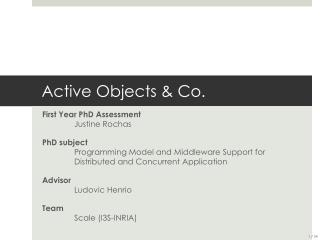 Active  Objects  & Co.
