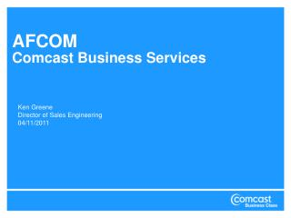 AFCOM Comcast Business Services