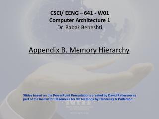Appendix B. Memory Hierarchy