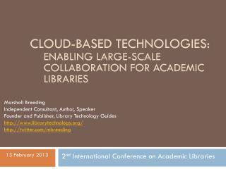 Cloud-based technologies: