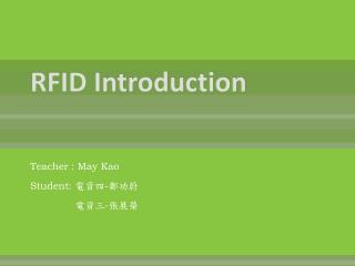RFID Introduction