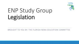 ENP Study Group Legislation