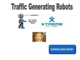 Traffic Generating Robots