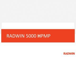 RADWIN 5000  H PMP