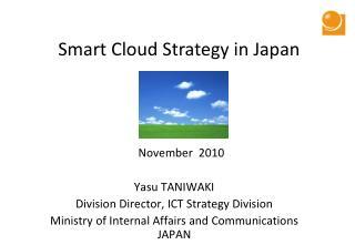 Smart Cloud Strategy in Japan