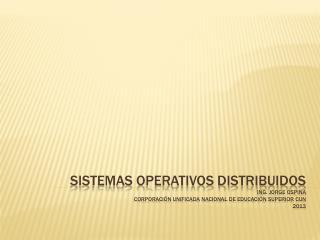 Què  es un sistema operativo?