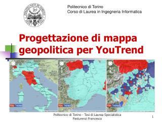 Progettazione di mappa geopolitica per YouTrend