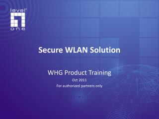 Secure WLAN Solution