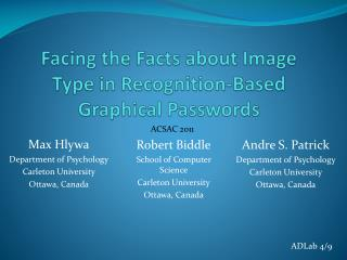 Facing the Facts about Image Type in  Recognition-Based  Graphical Passwords