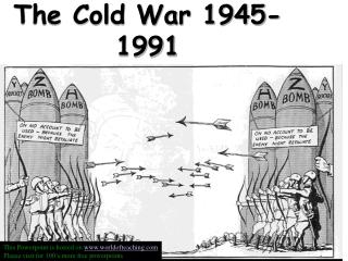 COLD WAR        ..1945-1991          2
