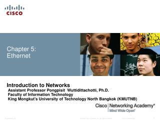 Chapter 5: Ethernet