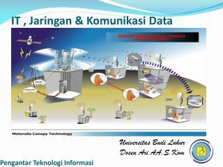 IT ,  Jaringan &  Komunikasi  Data