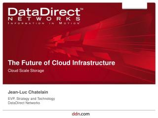 The Future of Cloud Infrastructure
