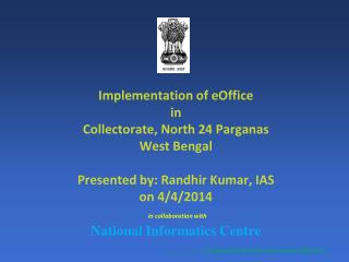 Understanding the Collectorate functioning