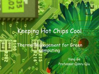 Keeping Hot Chips Cool