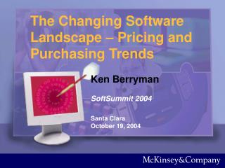 The Changing Software Landscape   Pricing and Purchasing Trends