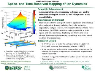 Space- and Time-Resolved Mapping of  Ion Dynamics