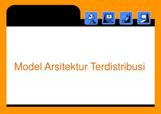 Model A rsitektur Terdistribusi