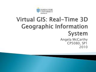 Virtual GIS: Real-Time 3D Geographic Information System