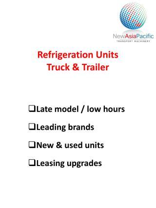 Refrigeration Units Truck & Trailer