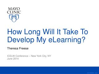 How Long Will It Take To  Develop My eLearning?