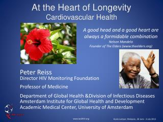 At the Heart of Longevity Cardiovascular Health