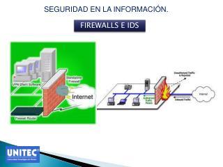 FIREWALLS E IDS