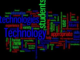 Something Other than  Word Processing :  Making Use of  D ifferent  Technologies for Assignments