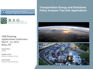 Transportation Energy and Emissions Policy Analysis Tool with Applications