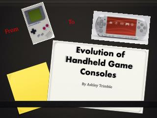 Evolution of Handheld Game Consoles