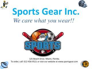 Sports Gear Inc.