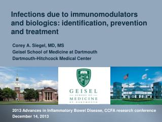 Infections due to immunomodulators and biologics: identification, prevention and treatment