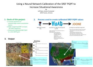 Using a Neural Network Calibration of the SREF PQPF to Increase Situational Awareness By