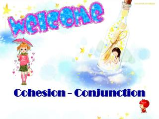 Cohesion - Conjunction