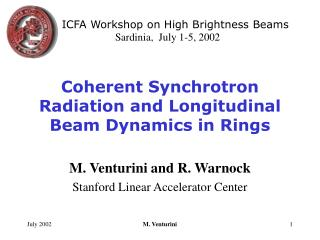 Coherent Synchrotron Radiation and Longitudinal Beam Dynamics in Rings