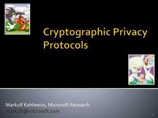 Cryptographic Privacy Protocols