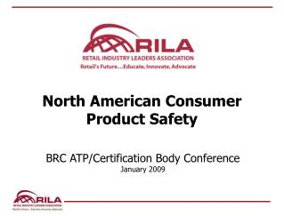 North American Consumer Product Safety