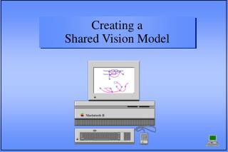 Creating a                        Shared Vision Model