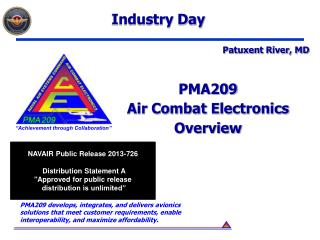 PMA209 Air Combat Electronics Overview