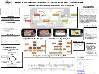 "DESIGN-BASED RESEARCH: Augmented-Reality Based Mobile Game: ""History Mystery"""