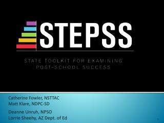 STEPSS: State Toolkit for examining post-school success