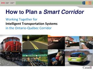 How  to  Plan  a  Smart Corridor
