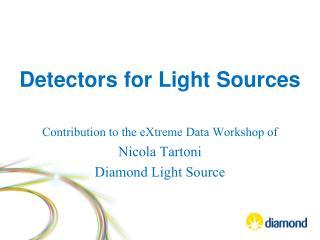 Detectors for Light Sources