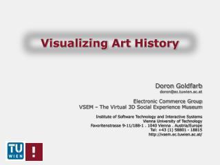 Visualizing  Art  History