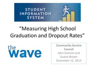 """Measuring  High School Graduation  and Dropout Rates"""